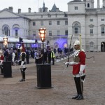 Horse Guards Parade in central London: a venue demanding first class security