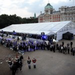 Security for the event at Horse Guards Parade was provided by Integrated Security Consultants