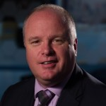 Andrew Hallam: the new managing director at Unipart Security Solutions