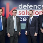 Business Minister Matthew Hancock and Defence Minister Philip Dunne officially open the Defence Growth Partnership's UK Defence Solutions Centre at the Cody Technology Park in Farnborough, Hampshire