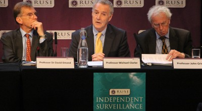 Professor Michael Clarke (director general at RUSI) outlines the findings of the Independent Surveillance Review Panel