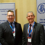 Left to Right: Justin Bentley (CEO of IPSA0 and Paul Tennent, Tavcom's sales director