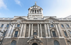 The Old Bailey in central London
