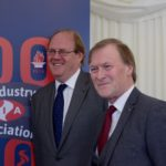 FIA chairman Martin Harvey (left) and Sir David Amess MP, chairman of the All-Party Parliamentary Fire Safety and Rescue Group