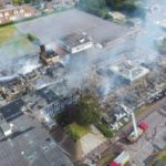 Fire has decimated The Selsey Academy, the main building of which dates back to the 1960s