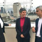 Left to Right: Home Secretary Amber Rudd, Cressida Dick and London Mayor Sadiq Khan