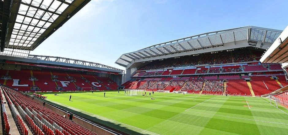 Anfield: the home of Liverpool FC