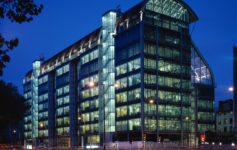 The Gibbs Building: Wellcome Trusthq at 215 Euston Road in central London
