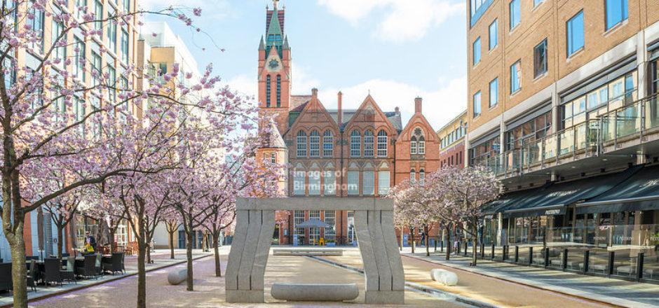 Brindleyplace in Birmingham
