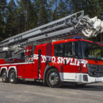 The Bronto FL45XRS aerial platform will be on display at the NEC