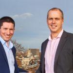 Jon Abbott (left) and Steve Thomson (Photo: Simon Jacobs)