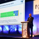 NSI CEO Richard Jenkins addresses the audience