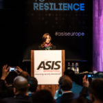 ASIS International Board president Christina Duffey CPP in the opening plenary session