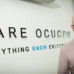 Ocucon's co-founder Gary Trotter (left) and business development manager Simon Gardner