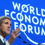 US Secretary of State John F Kerry at the World Economic Forum