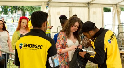 Showsec is enhancing its festival security operations thanks to the CREST initiative