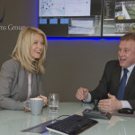 Esther McVey MP and Frank Crouwel, managing director at NW Systems
