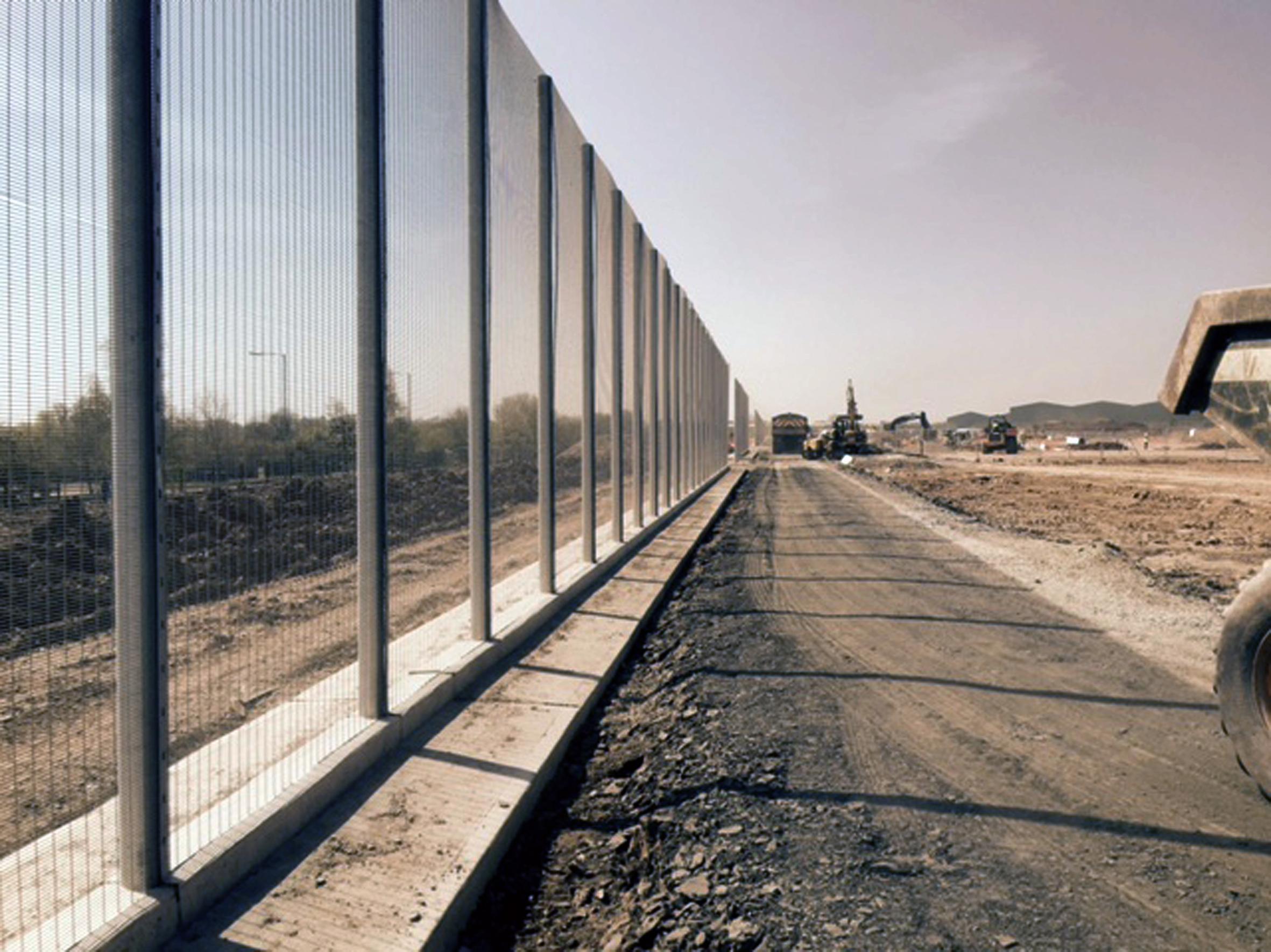 Malerisch Super Zaun Foto Von Perimeter Security For The £250 Million
