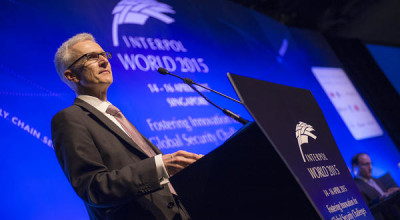 Interpol World 2015 runs from 14-16 April