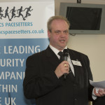 Risk UK's Editor Brian Sims gives the Keynote Speech