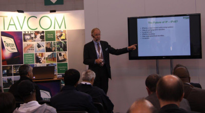 The Tavcom Training Theatre is a hugely popular element of IFSEC International