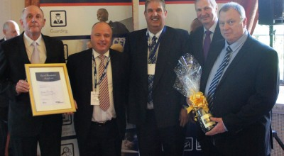 Members of the Unipart Group Security Team receive their Special Recognition Award