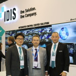 Left to Right: Brian Song, Jamie Barnfield and Paul Mather sign the agreement at IFSEC International 2015