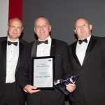 Left to Right: Securitas' Country President Brian Riis Nielsen, the University of Hertfordshire's Dale Murphy and Clint Reid from Marks & Spencer plc