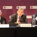 Professor Sir David Omand delivers his verdict at RUSI hq in Whitehall