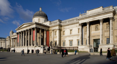 The National Gallery in central London