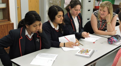 Workshops are being organised for female students to open their minds about STEM subjects