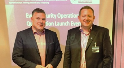 Left to Right: UKCMA chairman Mark Harding and James Rockley of HABC at the launch Workshop in Doncaster