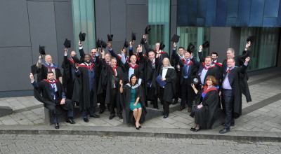 Graduates of Buckinghamshire New University's Department of Security and Resilience