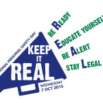 The 'Keep it REAL' campaign logo