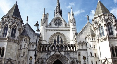 The High Court in central London