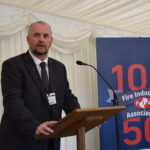 FIA CEO Ian Moore addresses the audience at the House of Commons