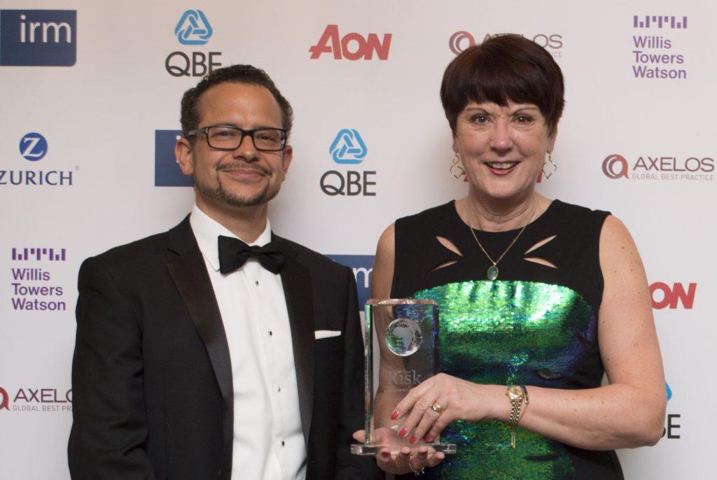 Risk Uk Dame Judith Hackitt Receives Lifetime Achievement