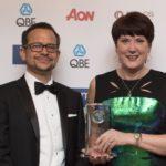 Jose Morago (chairman of the IRM) and Dame Judith Hackitt