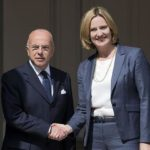 Bernard Cazeneuve (the Interior Minister of France) meets Home Secretary Amber Rudd to discuss security and counter-terrorism issues