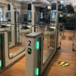 The new ePassport gates at Paris Gare du Nord Station