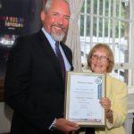 Ken Livingstone FSyI is the inaugural winner of the President's Award