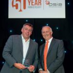 Paul Cockerham of G4S Cash Solutions (UK) pictured with James Kelly