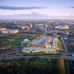 The Here East campus on the site of London's Queen Elizabeth Olympic Park