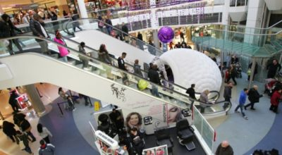 The Mercury Shopping Centre in Romford