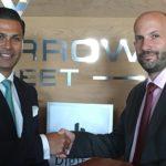 Warrick Cramer (left, CEO of 'Tomorrow Street') and Zak Doffman, CEO at Digital Barriers