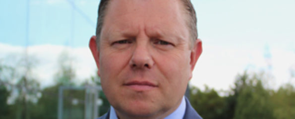 John Apter: chair of the Police Federation of England and Wales