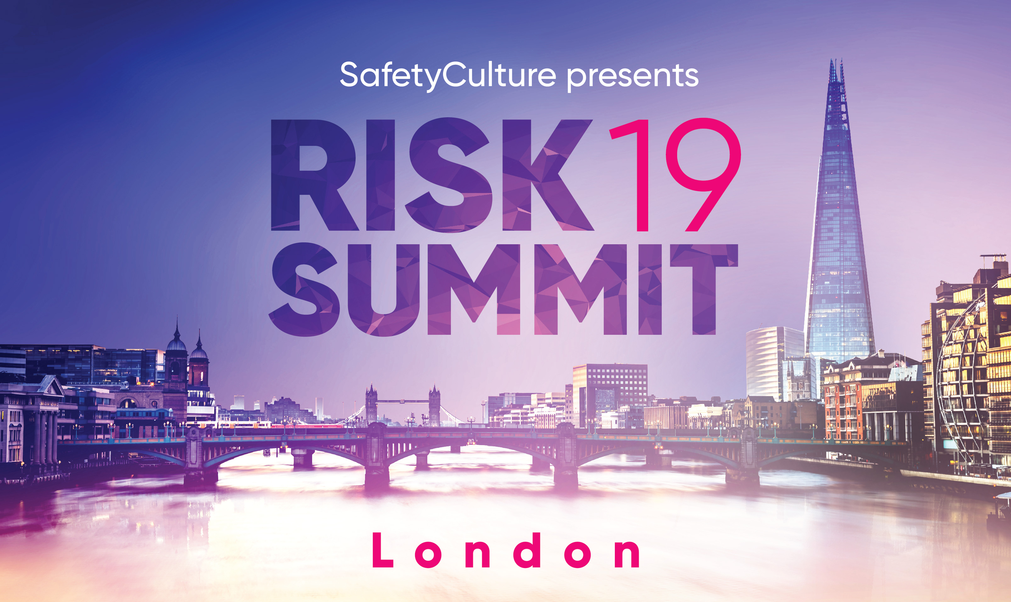 Risk UK Risk Summit 2019: Inaugural London event in March