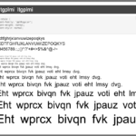 Figure 3: 'Woff' font specification
