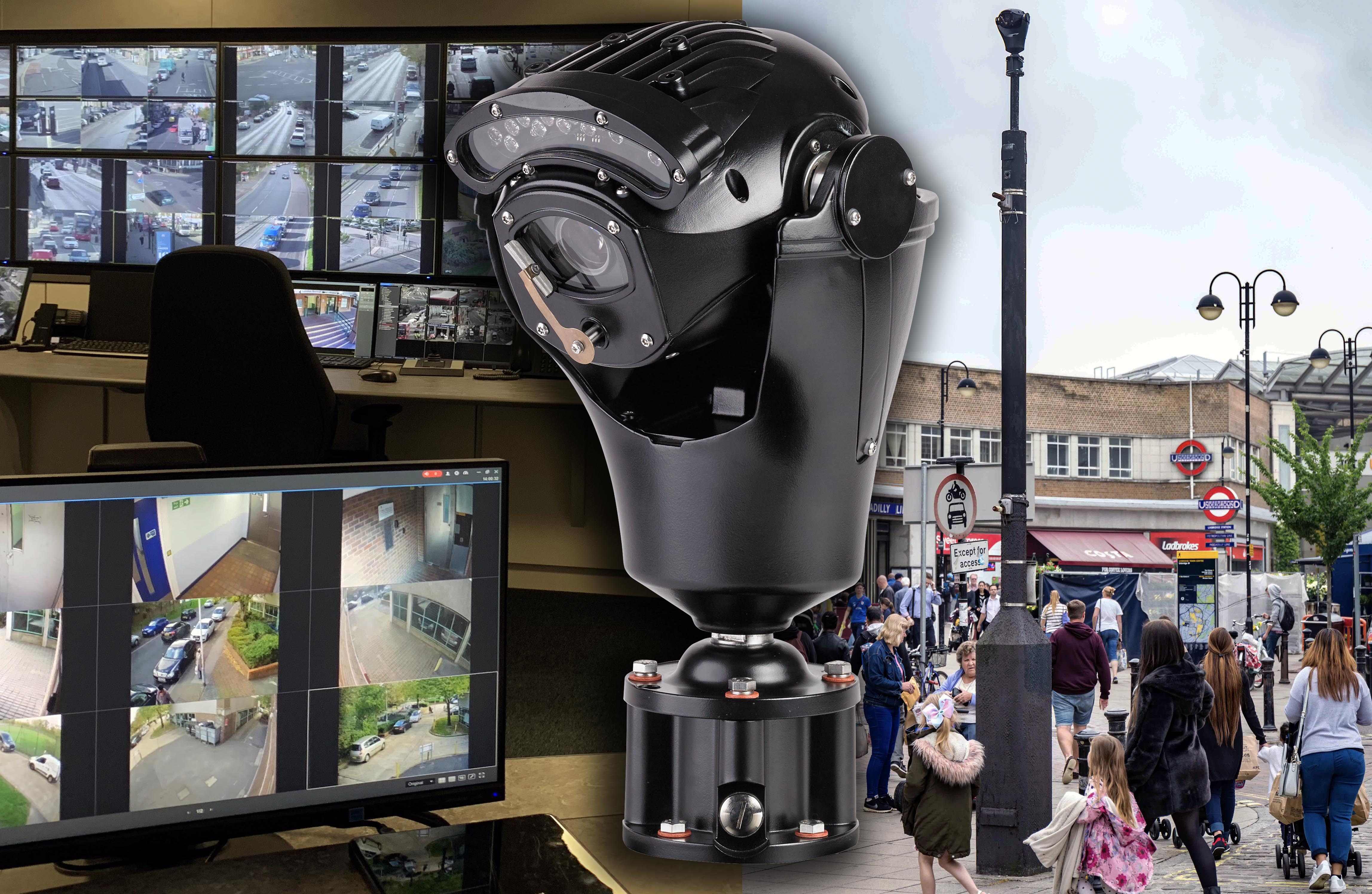 Risk UK Multiple Invictus PTZ cameras deployed by DSSL Group across