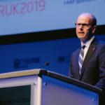 Jeremy Fleming speaking at CYBERUK 2019